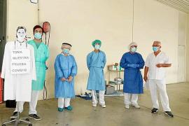 El contagio de sanitarios de las Pitiusas es inferior a la media balear