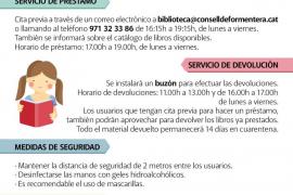 Reapertura del servicio de préstamos y devoluciones en la Biblioteca Marià Villangómez