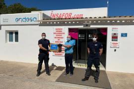 Endesa dona 500 mascarillas para la isla de Formentera
