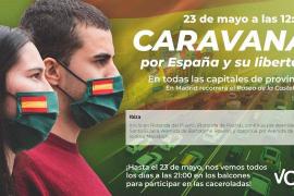 Vox revela los recorridos en Ibiza y Formentera de la 'Caravana por España'