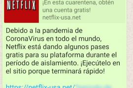 Nueva estafa para conseguir datos, esta vez suplantando a Netflix