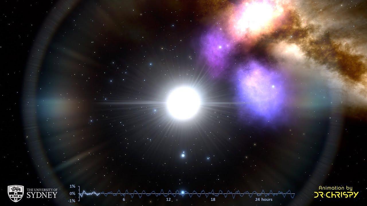 Identifican un latido armónico entre estrellas pulsantes