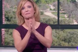 Las lágrimas de Maria Casado en su despedida de 'La Mañana' de TVE
