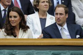 El príncipe Guillermo y Catalina asisten a Wimbledon