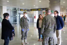 Aeropuerto de Menorca en época de coronavirus