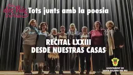 El Recital de poesia de l'AV Els Molins des Puig d'en Valls ya se puede disfrutar a través de un vídeo