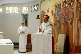 Puig d'en Valls celebró de forma segura el Día Grande de la parroquia