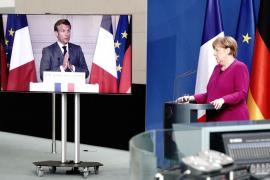Merkel y Macron proponen un fondo de 500.000 millones para los países y sectores más afectados
