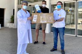 Proyecto Juntos dona 1.000 mascarillas para los sanitarios