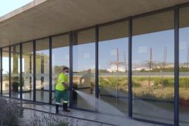 Formentera continúa con sus labores de limpieza