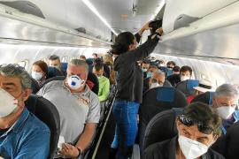 Los vuelos provocan el 50% de las quejas a consumo en Ibiza durante la alarma