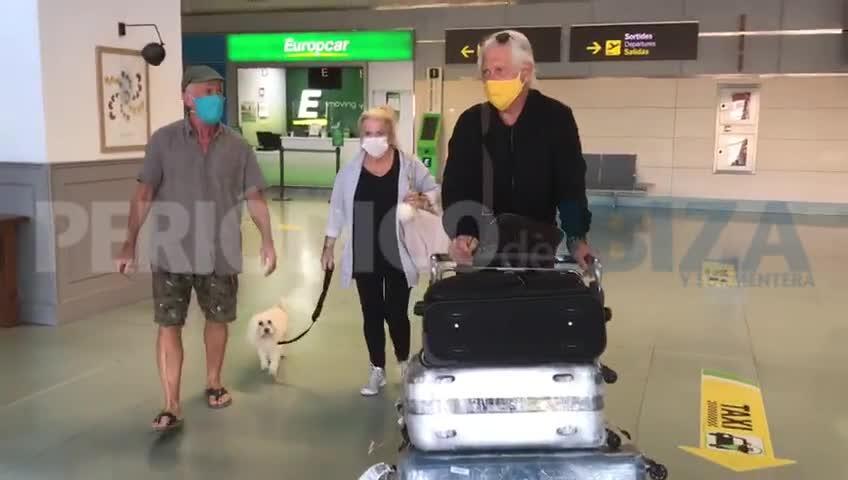 Llegan a Ibiza los primeros pasajeros obligados a pasar 14 días de cuarentena
