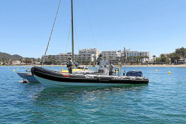 Los GEAS consiguen que se retiren 20 embarcaciones ilegales en s'Arenal