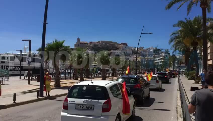 Vox se deja ver y oír en Ibiza