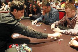 Una partida de póker en el Casino de Ibiza.