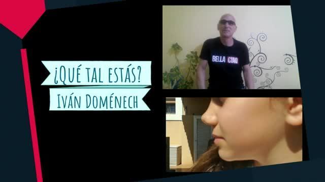 Iván Doménech inunda de optimismo las redes con su vídeo '¿Qué tal estás?' en el que participan 57 personas