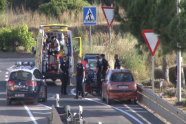 Trasladan a Son Espases a un niño de tres años atropellado en Sant Jordi