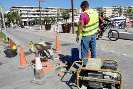Vila inicia los trabajos para conectar los aliviaderos del puerto al tanque de tormentas