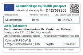 Un grupo empresarial trabaja en la introducción de un pasaporte sanitario para la UE