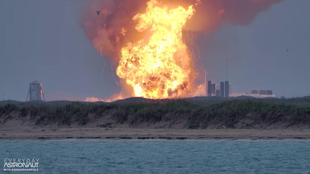 Explota el prototipo del cohete Starship de SpaceX durante una prueba