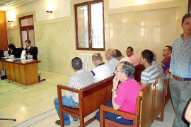 Juicio por tráfico de drogas en Palma