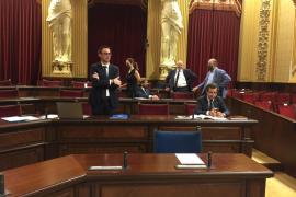 Suspendido el pleno del Parlament por la polémica en la votación del decreto de medidas urgentes