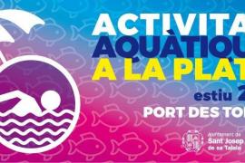 Sant Josep traslada a la playa de Port des Torrent las actividades de las piscinas municipales