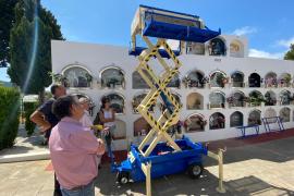 Sant Josep se dota de un elevador de féretros para los cementerios del municipio