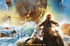 Cinema a la fresca en Parc de la mar: Tintín y el secreto del unicornio