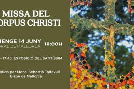 Celebración del Corpus Christi en la Catedral de Mallorca