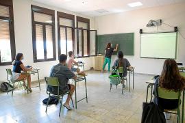 Los centros educativos darán clases de refuerzo con cita en todos los cursos desde el lunes