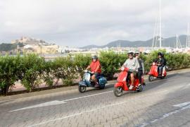Récord de clubes participantes en el cuarto Sargantanas Vespa Meeting Ibiza