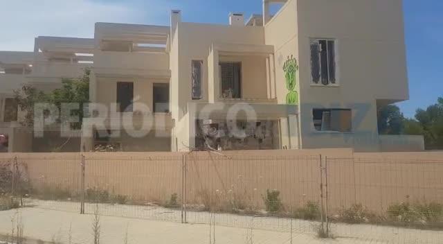 Un detenido y un machete intervenido tras una pelea entre okupas en Ibiza