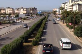 Las obras de mejora de la carretera E-10 de Ibiza empiezan el lunes