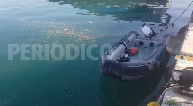 Los vertidos fecales en el puerto de Ibiza siguen sin limpiar desde ayer