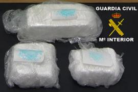 Capturado en el puerto de Vila con más de un kilo de cocaína adosado a su cuerpo