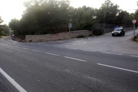 Fallece un motorista en el cruce de Can Fornet al chocar con un 4x4