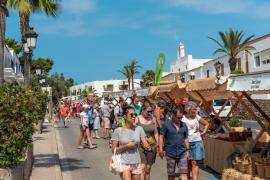 Sant Josep reabre el Mercado Artesanal y Ecológico