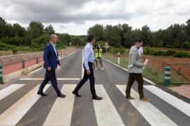 El Consell de Ibiza invierte 1,86 millones de euros en carreteras