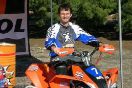 Toni Vingut debuta en el Europeo de Quadcross