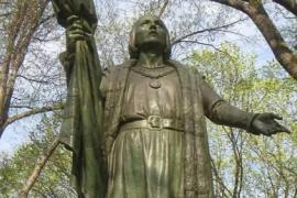 Cristobal Colón en Nueva York