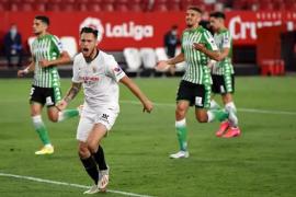 El Sevilla eclipsa al Betis en el regreso de la Liga