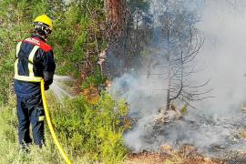 Libertad con cargos para el padre y el hijo que fueron detenidos por varios incendios en Formentera