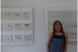 Garden Art Gallery reabre este domingo tras el confinamiento de la mano de la pintora Julia Fragua
