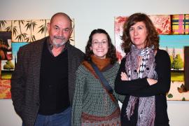 Inauguración de la exposición 'Arbres' en el espacio cultural de ses Voltes