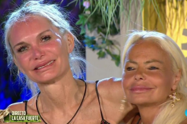 Yola Berrocal y Leticia Sabater se reconcilian en 'La casa fuerte'