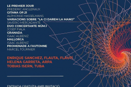 Vila acoge un concierto de una pequeña agrupación de la Orquesta Sinfónica de las Islas Baleares