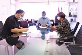 Sant Antoni subvencionará con 10.000 euros a Cáritas