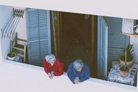 Los balcones del barrio de la Marina se convertirán en una gran galería al aire libre