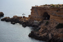 El anuncio del verano de Estrella Damm en Ibiza, en imágenes .
